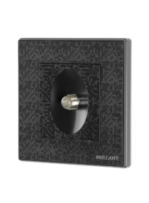 dish cable switch black
